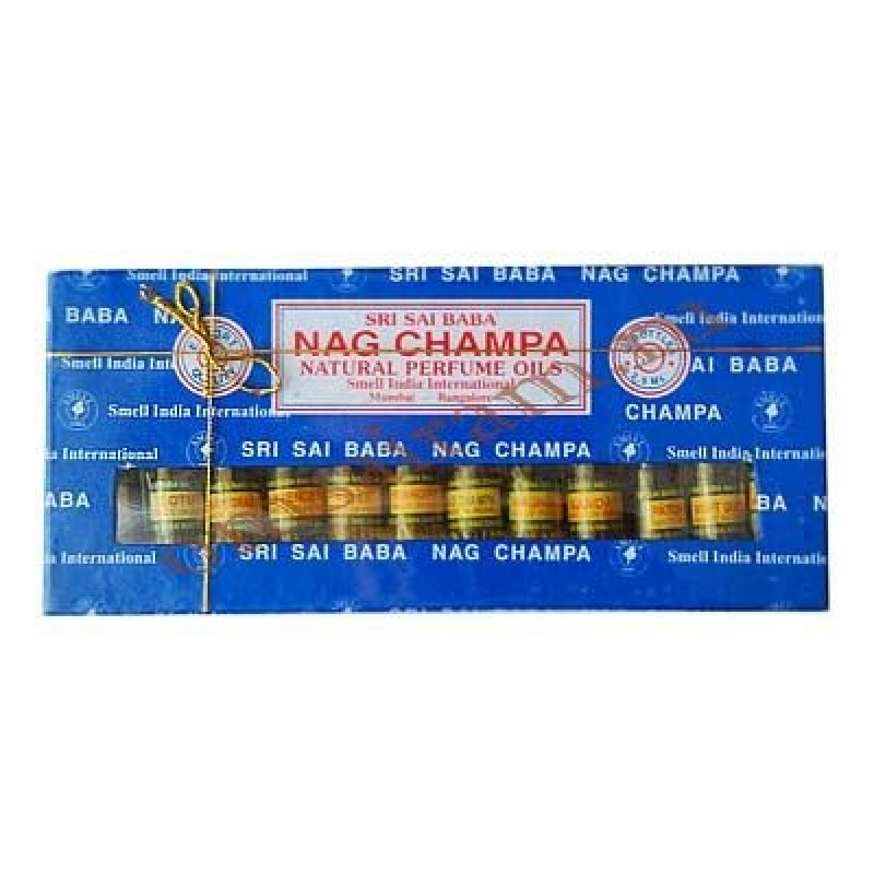 """Пачули"" SRI SAI BABA NAG CHAMPA Natural Perfume Oils Set НАБОР ИЗ 12 НАТУРАЛЬНЫХ ЭФИРНЫХ МАСЕЛ, 30 МЛ"